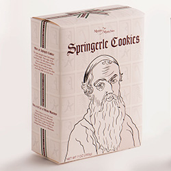 Menno Munchies Springerle Cookie Box